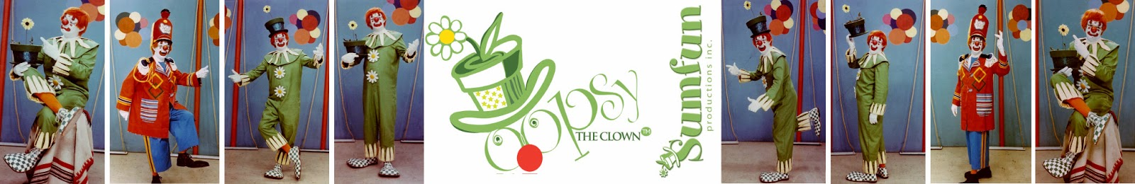 Oopsy the Clown is a registered trademark of Sumfun Productions Inc.