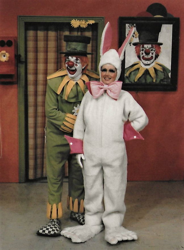Oopsy the Clown and Funny Bunny